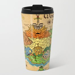 World Map - Mario RPG Metal Travel Mug