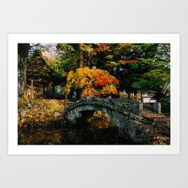 Takayama Colors Art Print