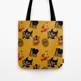 I <3 HORROR Tote Bag