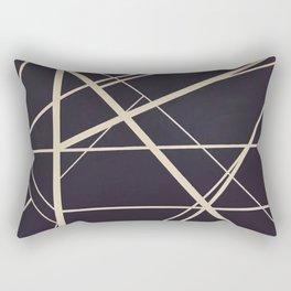 Crossroads - color frame Rectangular Pillow