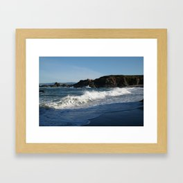 Glass Beach California #1 Framed Art Print
