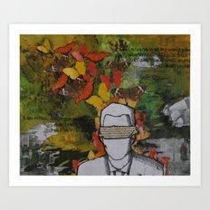 Blinded Art Print