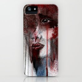 Show me your pain iPhone Case