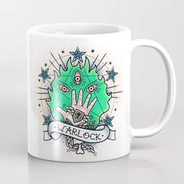 Warlock - Vintage D&D Tattoo Coffee Mug