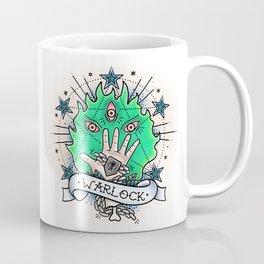 Warlock - Vintage D&D Tattoo Coffee Mug