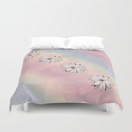 lily-white Duvet Cover