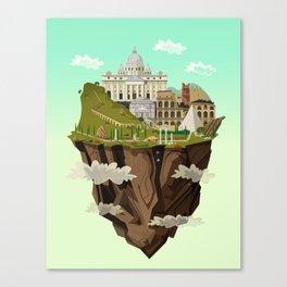 Eternal City Canvas Print