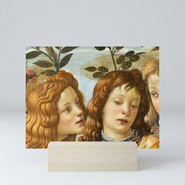 Sandro Botticelli - Angels 4. detail Mini Art Print