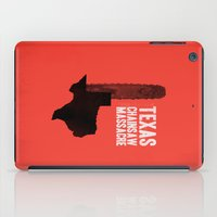 gore iPad Cases featuring Texas Chainsaw Massacre by Wharton