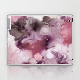 Organic Abstract in shades of plum Laptop & iPad Skin