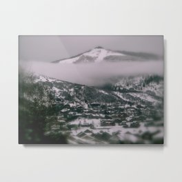 Foggy Blanket Metal Print