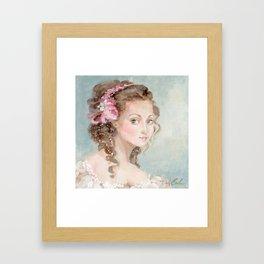 Gizelle Framed Art Print
