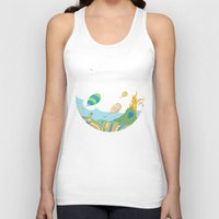 dr seuss Tank Tops featuring oh the places you'll go .. dr seuss by studiomarshallarts