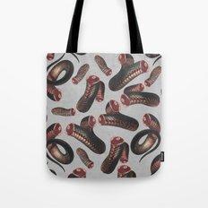 Snake V Tote Bag