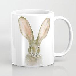 Jack Rabbit Watercolor Coffee Mug