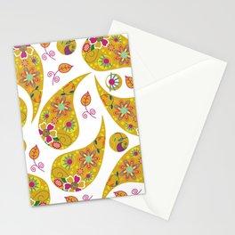 Paisley pattern #4 Stationery Cards