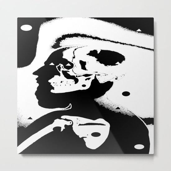 The Masks We Wear Metal Print