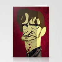 will graham Stationery Cards featuring Will Graham by nachodraws