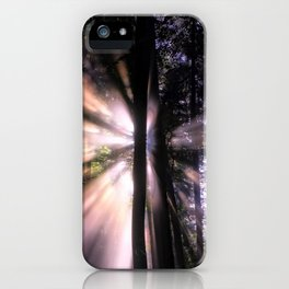Follow the Light iPhone Case