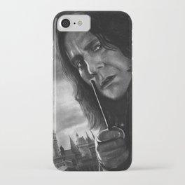 Alan Rickman iPhone Case
