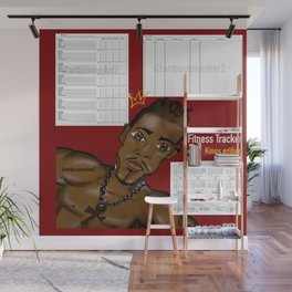 2020 Kings Edition Fitness & Wellbeing Tracker Wall Mural