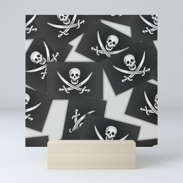 The Jolly Roger of Calico Jack Mini Art Print