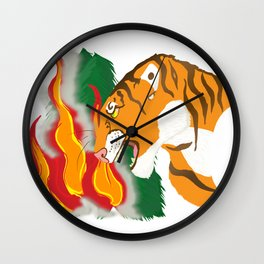 Voice of Nature Wall Clock
