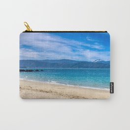 Beach At Scorching Bay Carry-All Pouch