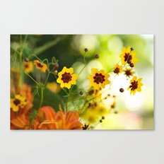 Simple Flowers Canvas Print