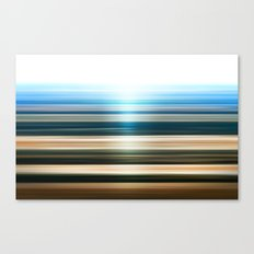 Canyon Stripes Canvas Print