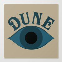 dune Canvas Prints featuring Dune by ephemerality