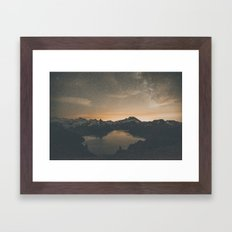 Garibaldi Milky Way II Framed Art Print