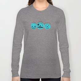 Trick or Treat Smell My Feet- Teal Pumpkin Project Long Sleeve T-shirt