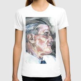 JAMES JOYCE - watercolor portrait T-shirt