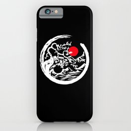 Japanese Bonsai Tree Shirt iPhone Case