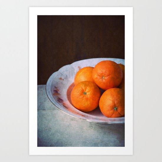 orange time Art Print