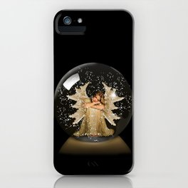 Sleeping Angel iPhone Case