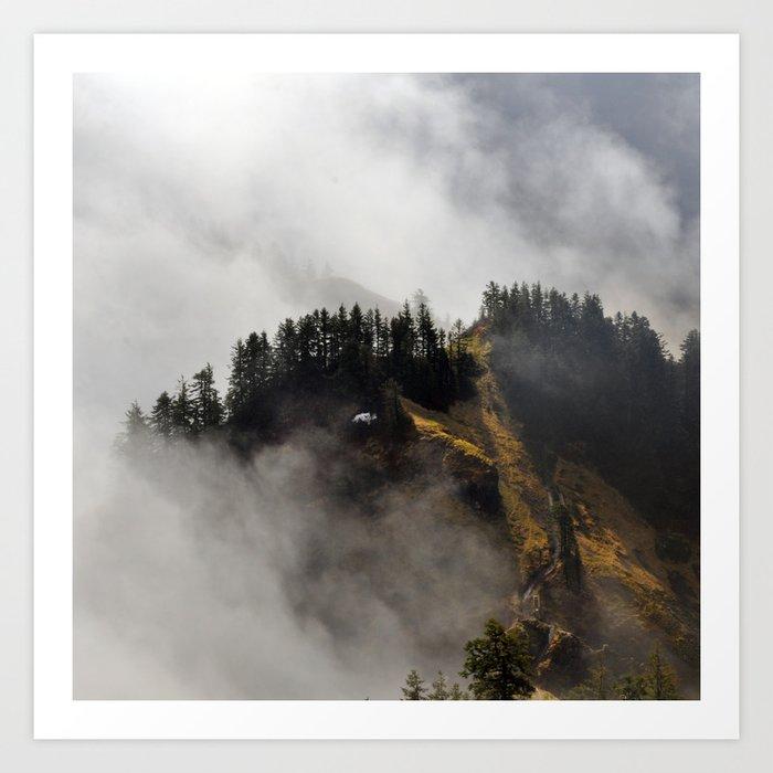 Saddle Mountain Art Print