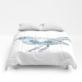 Nightingale Watercolor Sketch Comforters