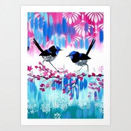 Fairy Wren Ph Case and more Art Print