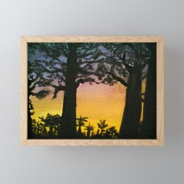 Baobabs Framed Mini Art Print