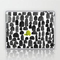 Turtle in Stone Garden Laptop & iPad Skin