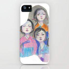 Those three women iPhone Case