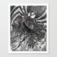 venom Canvas Prints featuring VENOM by Jay Allen Hansen