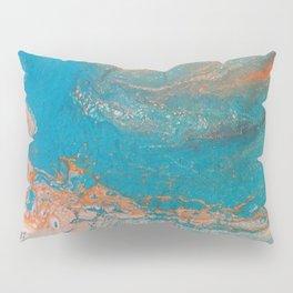 Sunset Blue Pillow Sham