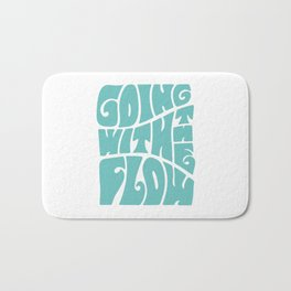 Going with the flow Bath Mat
