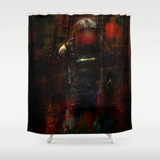 The last Metro Shower Curtain
