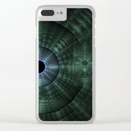 Ripple Effect Clear iPhone Case