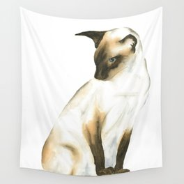 seal point siamese cat 1 Wall Tapestry