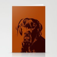 the dude Stationery Cards featuring Dude by Brooke Copani